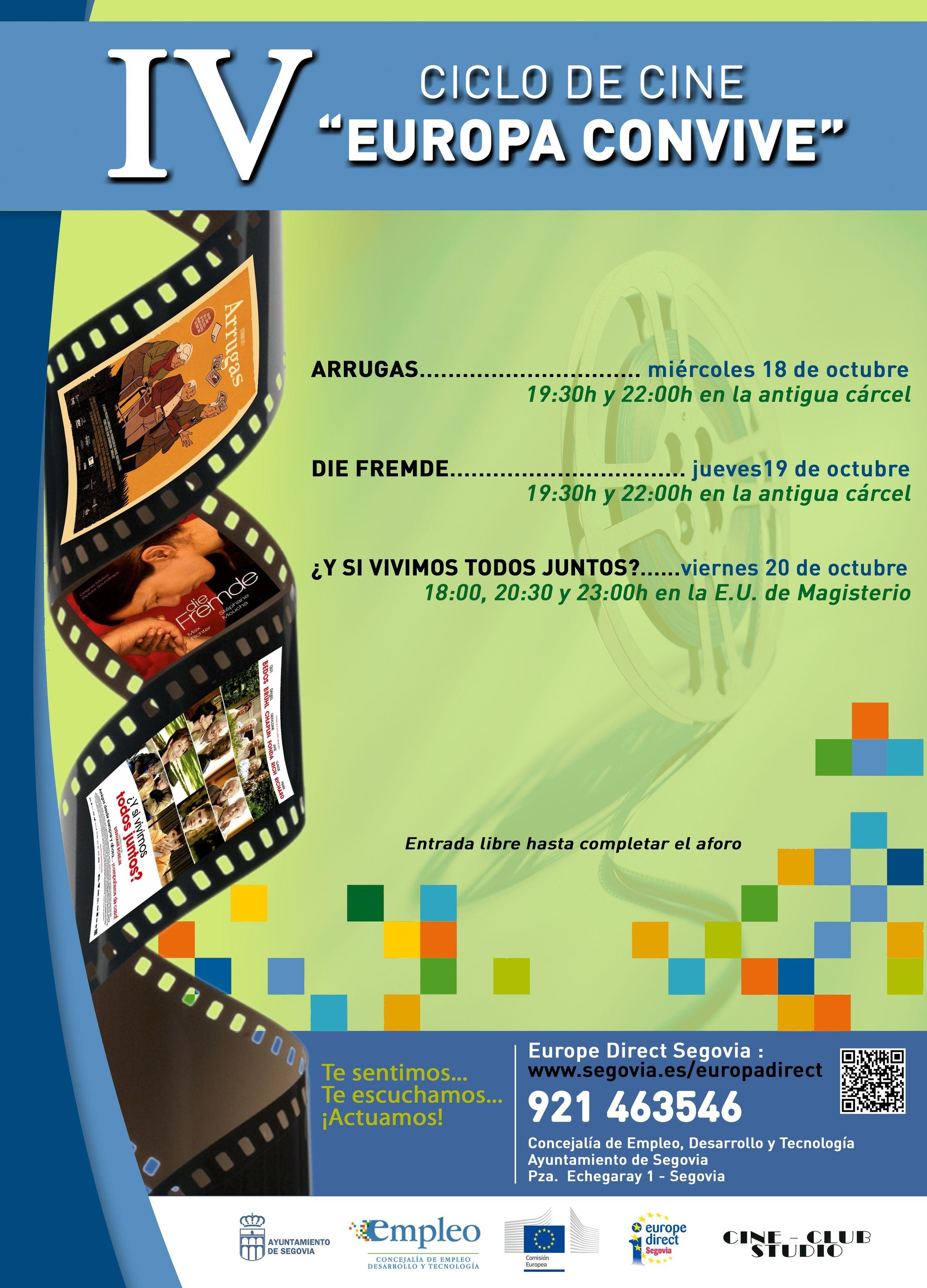 Valores de convivencia a trav s del cine en la c rcel 17 for Oficina de empleo de segovia