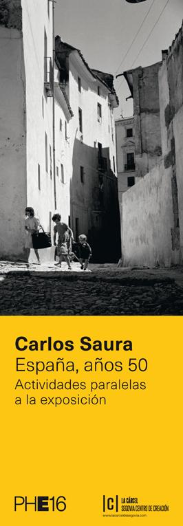 Actividades paralelas Carlos Saura